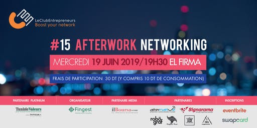Afterwork Networking LeClubEntrepreneurs #15
