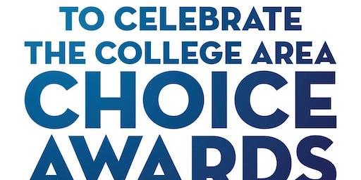 College Area Choice Awards Mixer