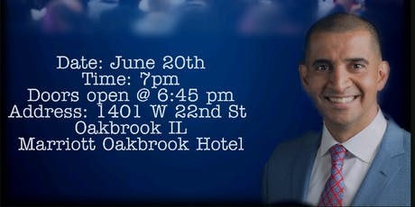 Patrick Bet-David Host Of  Valuetainment  in Oakbrook tickets