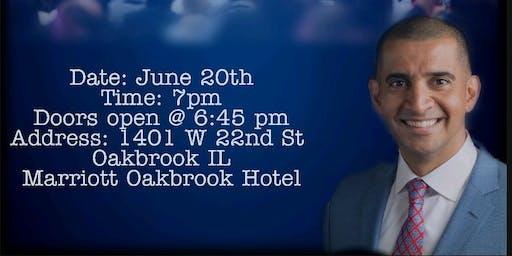 Patrick Bet-David Host Of  Valuetainment  in Oakbrook