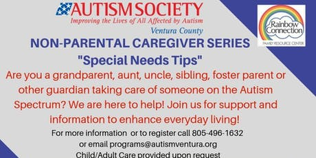Special Needs Tips for the Non-Parental Caregiver tickets