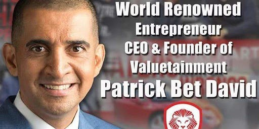 Meet Patrick Bet-David 1 Day Only!