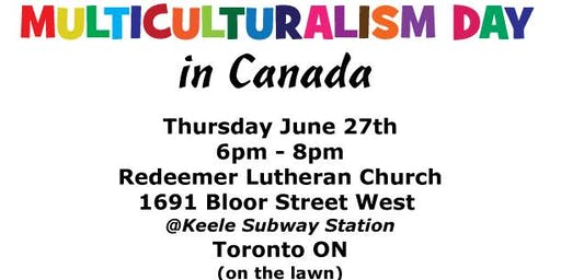 A Dinner Picnic for Multiculturalism Day