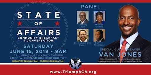 State of Affairs: Community Breakfast & Conversation with Van Jones