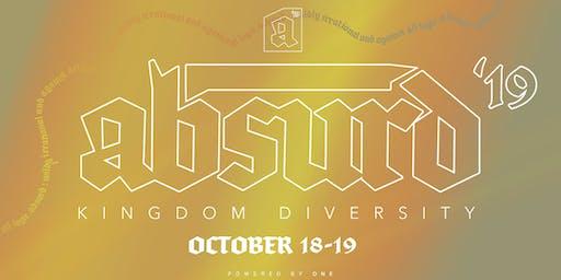 ABSURD '19 : Kingdom Diversity