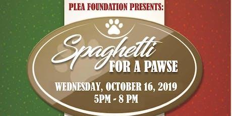 Spaghetti for a Pawse tickets