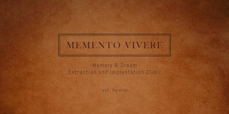 Memento Vivere - Immersive Art Installation by Ashes Monroe tickets
