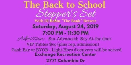 The Sisterhood Projects Presents School Stepper's Set tickets