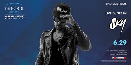 Sky Blu | Epic Saturdays at The Pool REDUCED Guestlist tickets