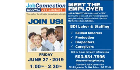 Hiring Event - West Salem - 6/27/19 tickets