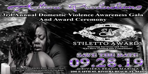 3rd Annual Domestic Violence Stiletto Awards Awareness Gala