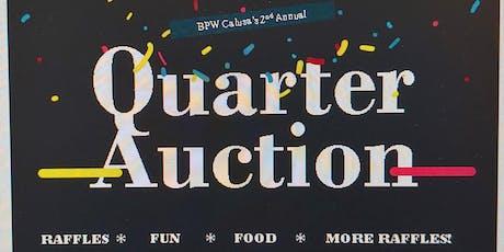 BPW Calusa 2nd Annual Quarter Auction tickets