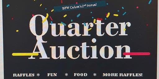 BPW Calusa 2nd Annual Quarter Auction