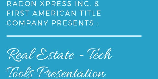 REAL ESTATE  Brunch and Tech Tools Presentation