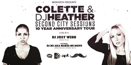 DJ Heather b2b DJ Colette / DJ Joey Webb tickets