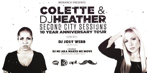 DJ Heather b2b DJ Colette / DJ Joey Webb