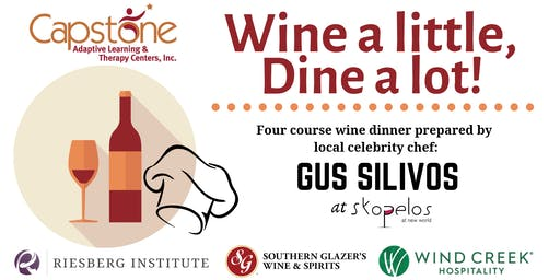 12th Annual Wine a little, Dine a lot!