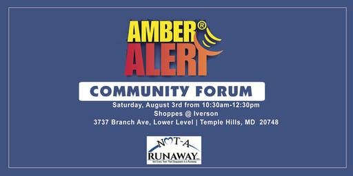 What's Up With The AMBER Alert: A Community Forum