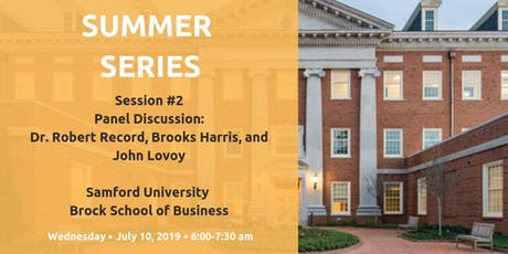Summer Series #2 Panel Discussion tickets