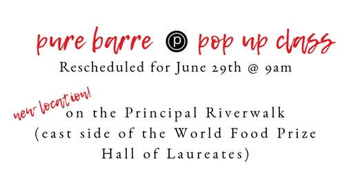 Pure Barre Pop Up + Girl Scouts