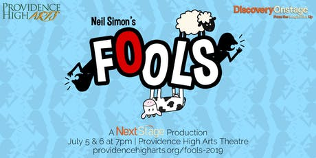 FOOLS | A NextStage Production tickets