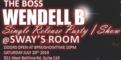 WENDELL B CD release party/concert