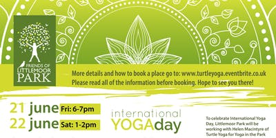 Yoga in the Park - FREE EVENT