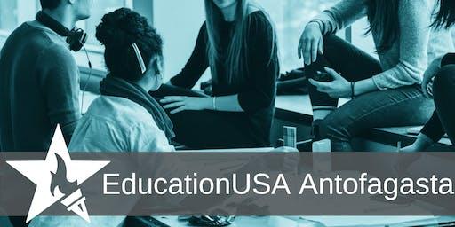 Estudia en los E.E.U.U.