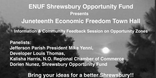 JUNETEENTH ECONOMIC FREEDOM TOWN HALL