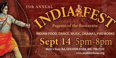 35th Annual Festival of India tickets