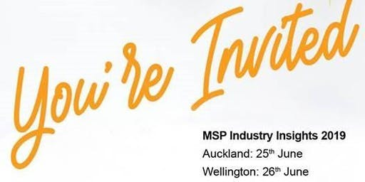 MSP Industry Insights 2019 - Wellington