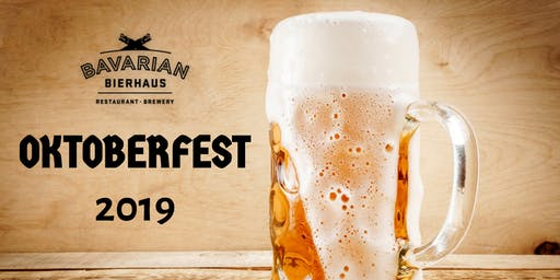 Oktoberfest Tables Saturday October 5th