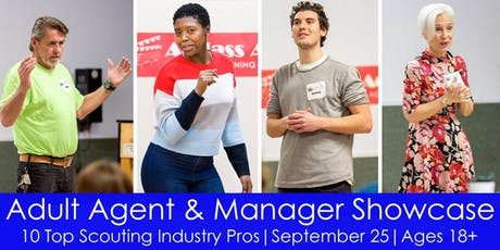 Adult Agent & Manager Showcase - September 2019 tickets