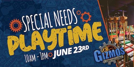 Gizmo's Fun Factory Special Needs Event!
