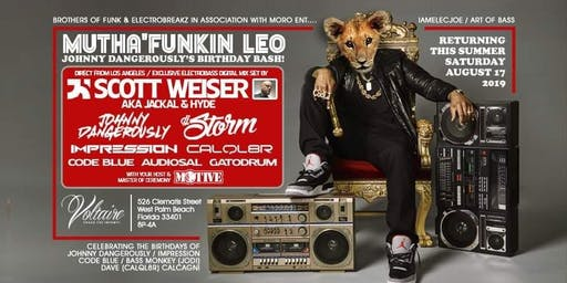 Mutha' Funkin' Leo! Johnny Dangerously's Birthday Bash!
