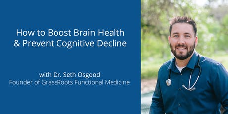 How to Boost Brain Health & Prevent Cognitive Decline tickets