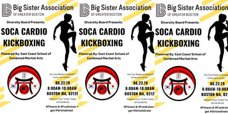 Summer Sizzle '19: Soca Cardio Kickboxing - Powered by Big Sister Boston's Diversity Board  tickets