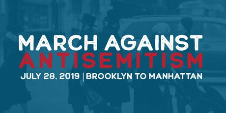 March Against Antisemitism tickets