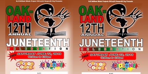 Oakland 12th Annual Juneteenth Celebration