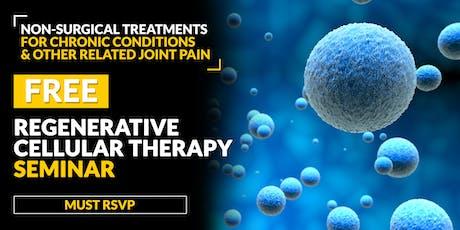 FREE Regenerative Cellular Therapy Seminar - Lexington, KY 6/18 tickets