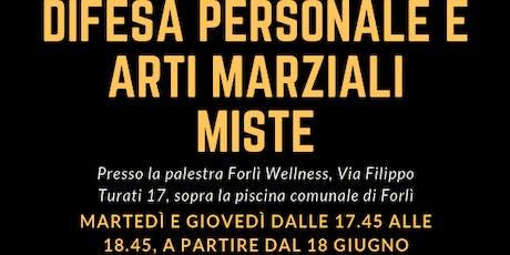 Inizio corso di Difesa Personale e Arti Marziali Miste a Forlì biglietti