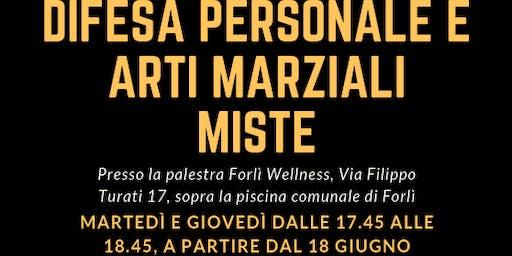 Inizio corso di Difesa Personale e Arti Marziali Miste a Forlì