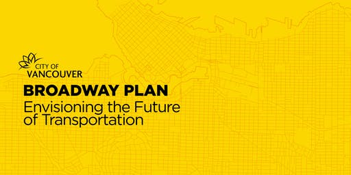 Broadway Plan Workshop: Envisioning the Future of Transportation