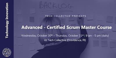 Agile: Advanced - Certified Scrum Master Course (A-CSM)