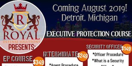 Executive Protection Course 2019 tickets