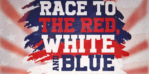 Race to the White Red and Blue