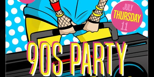90s PARTY alongside DJ DANNY M - Tongue and Groove Thursday