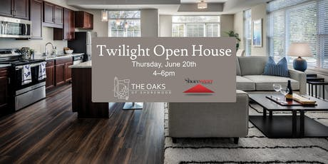 Twilight Open House tickets