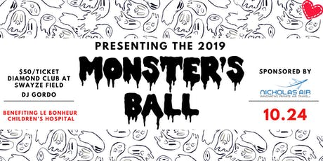 Monster's Ball Benefiting Le Bonheur Children's Hospital tickets