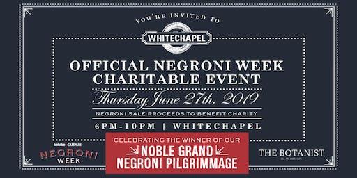Negroni Week NGNP Winner's Party